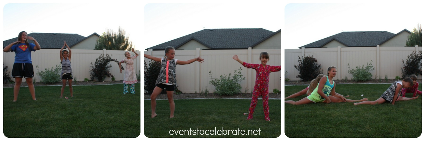 Slumber Party Activities - Dance Choreography