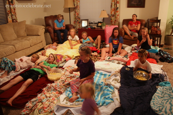 Slumber Party Activities - Movie