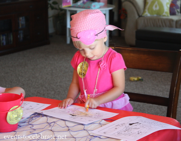 Jake and the Neverland Pirates Coloring Page