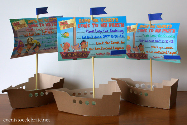 Jake and the neverland pirates party decorations events to celebrate jake and the neverland pirates invitations filmwisefo