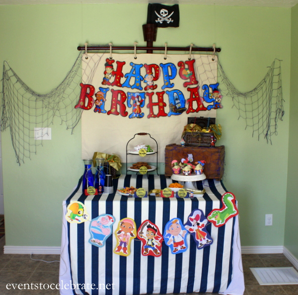 Jake And The Neverland Pirates Party Decorations Events To Celebrate