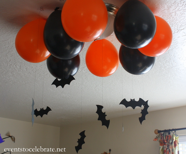 Halloween Party Ceiling Decor - Events To Celebrate