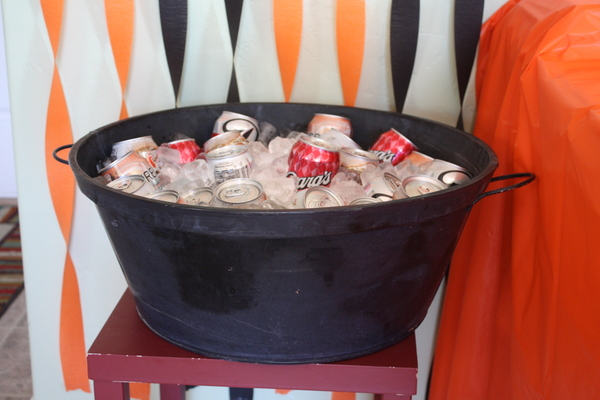 Halloween Party Food - Cauldron of Sodas - Events To Celebrate