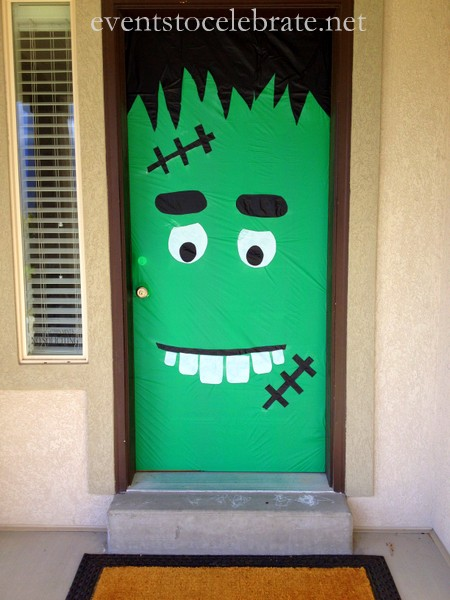 DIY Halloween Door Decoration Ideas