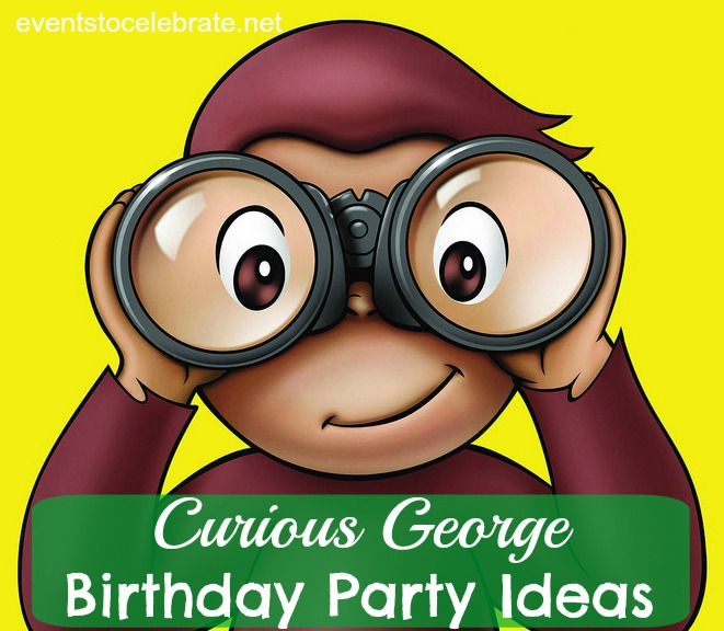 Curious George Birthday Party Ideas - eventstocelebrate.net