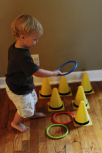 Curious George Ring Toss
