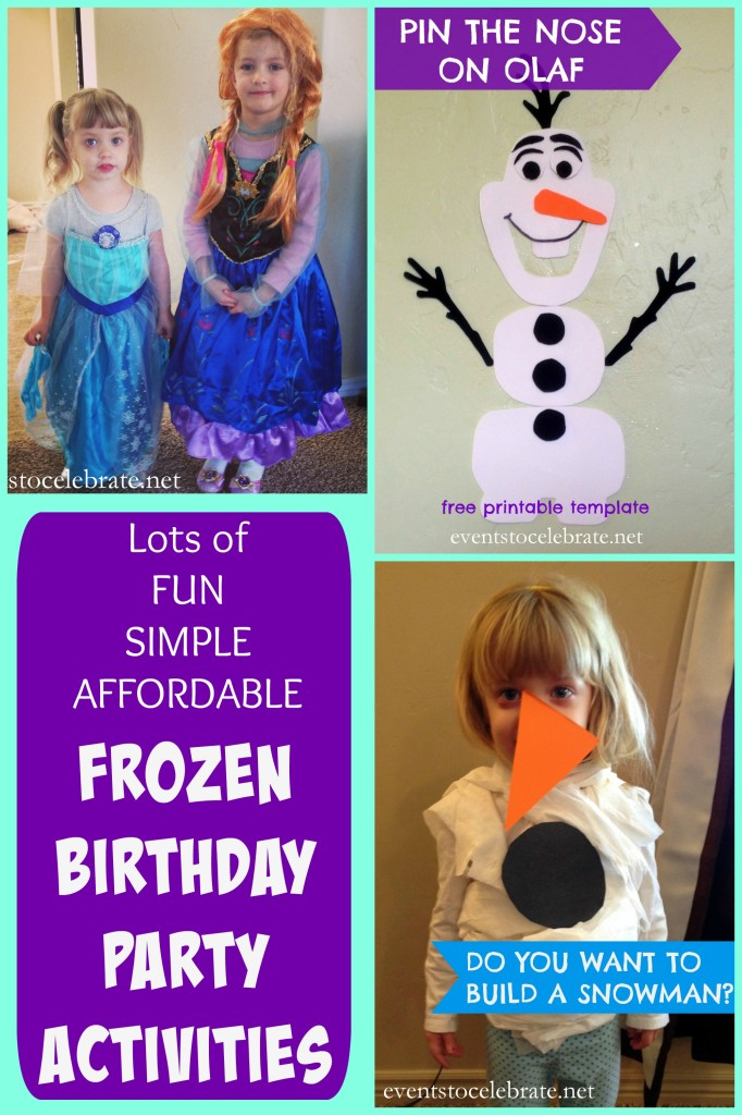 Frozen Birthday Party Ideas - eventstocelebrate.net