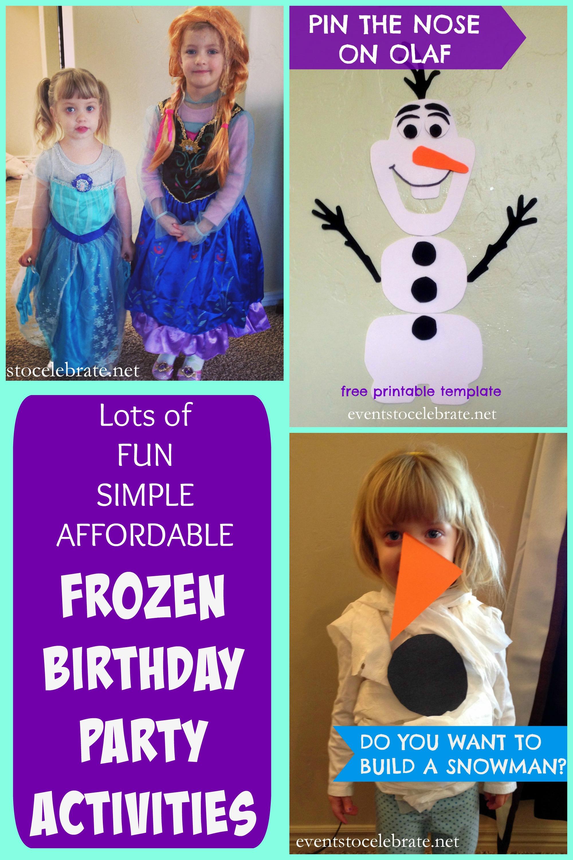 Frozen Party Games Archives