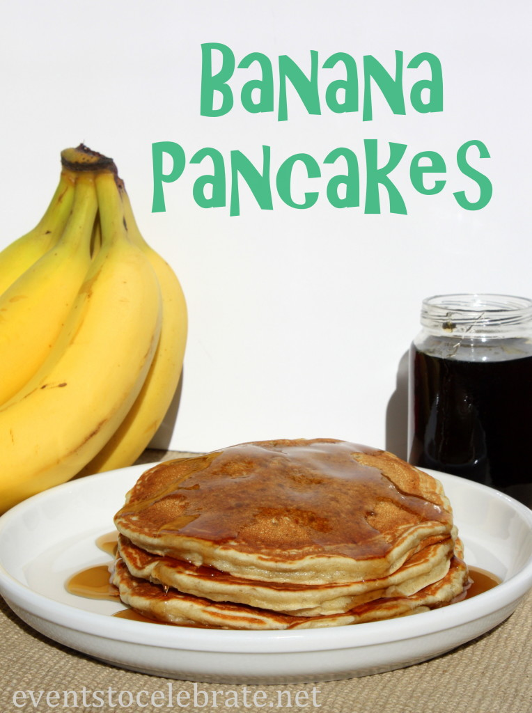 Banana Pancake Recipe - eventstocelebrate.net