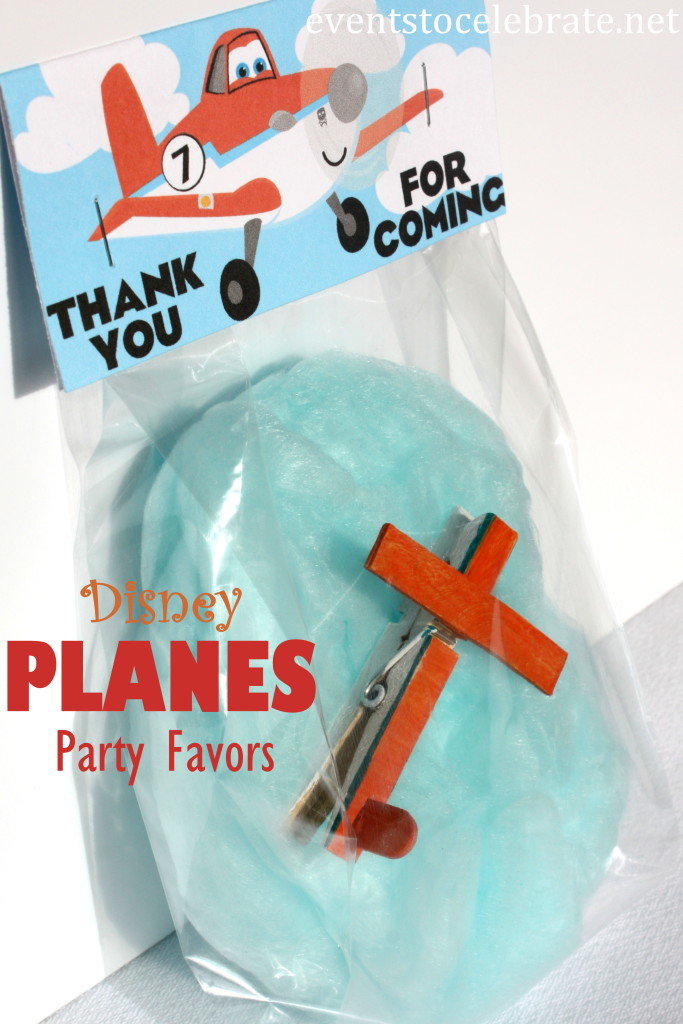 Disney Planes Party Favor