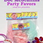 Doc McStuffins Party Favors - free printables - eventstocelebrate.net