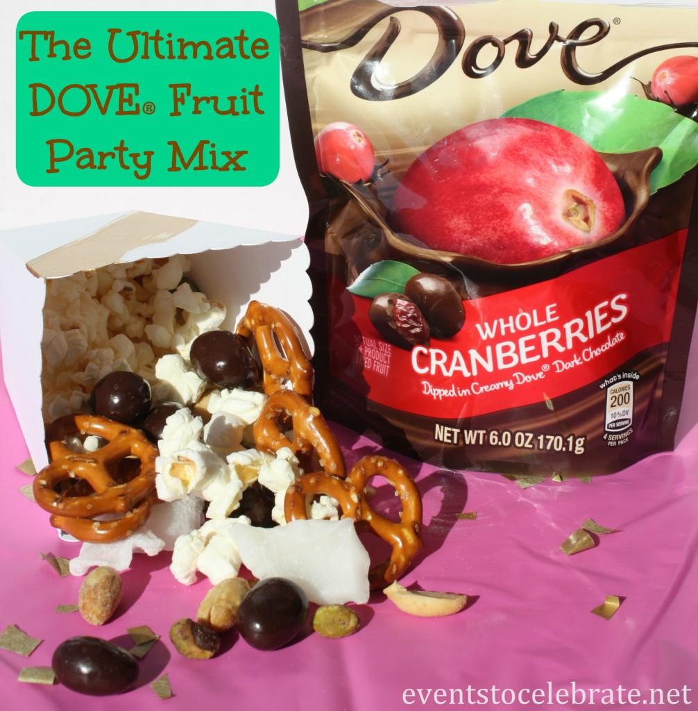DOVE® Fruit Party Mix - eventstocelebrate.net #LoveDoveFruits #ad