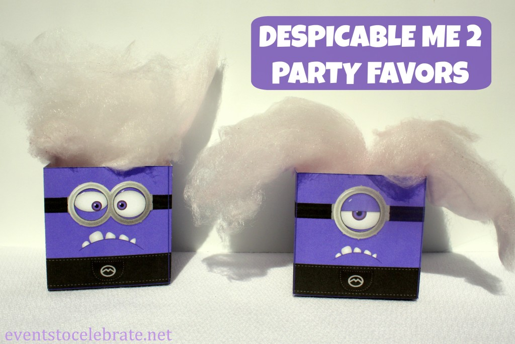 Despicable Me Party Favors - eventstocelebrate.net