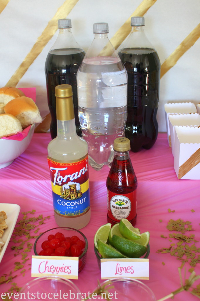 Dirty Diet Coke and Lime Rickey - eventstocelebrate.net #LoveDoveFruits #ad