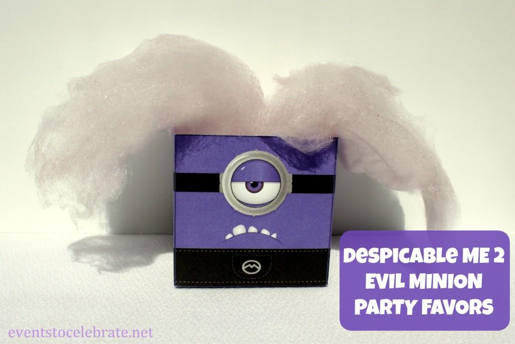 Despicable Me Party Favors - eventstocelebrate.net