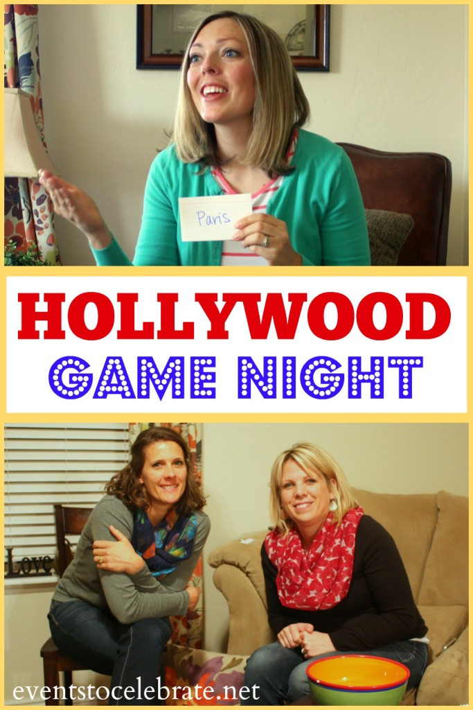 Hollywood Game Night - eventstocelebrate.net #LoveDoveFruits#ad