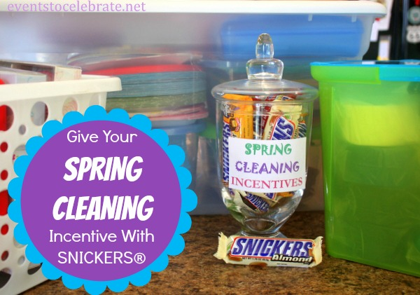 Spring Cleaning Hacks - eventstocelebrate.net #WhenImHungry #ad