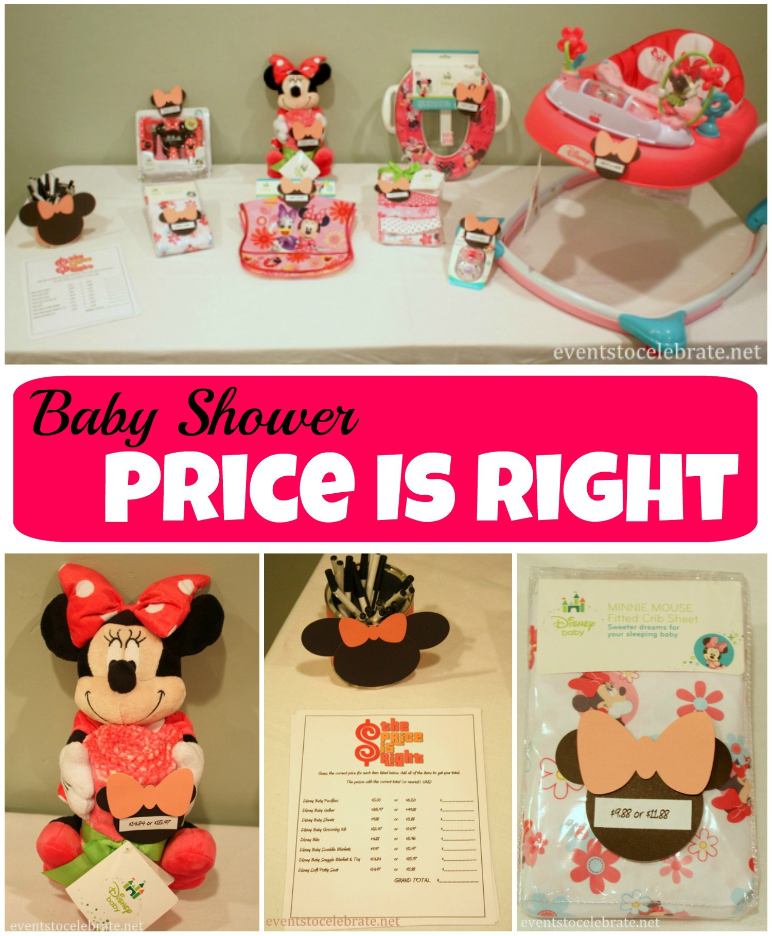 Baby Shower Price Is Right   Events To Celebrate