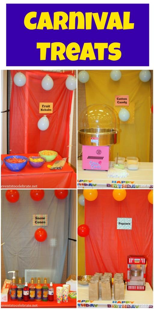 Carnival Treats - eventstocelebrate.net