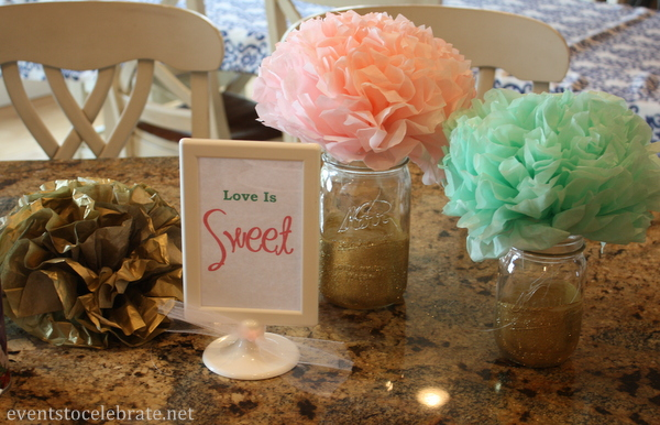 Love Is Sweet Decorations