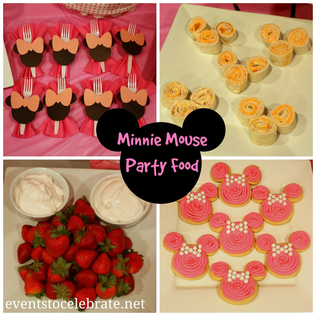 Minnie Mouse Food - Events To Celebrate