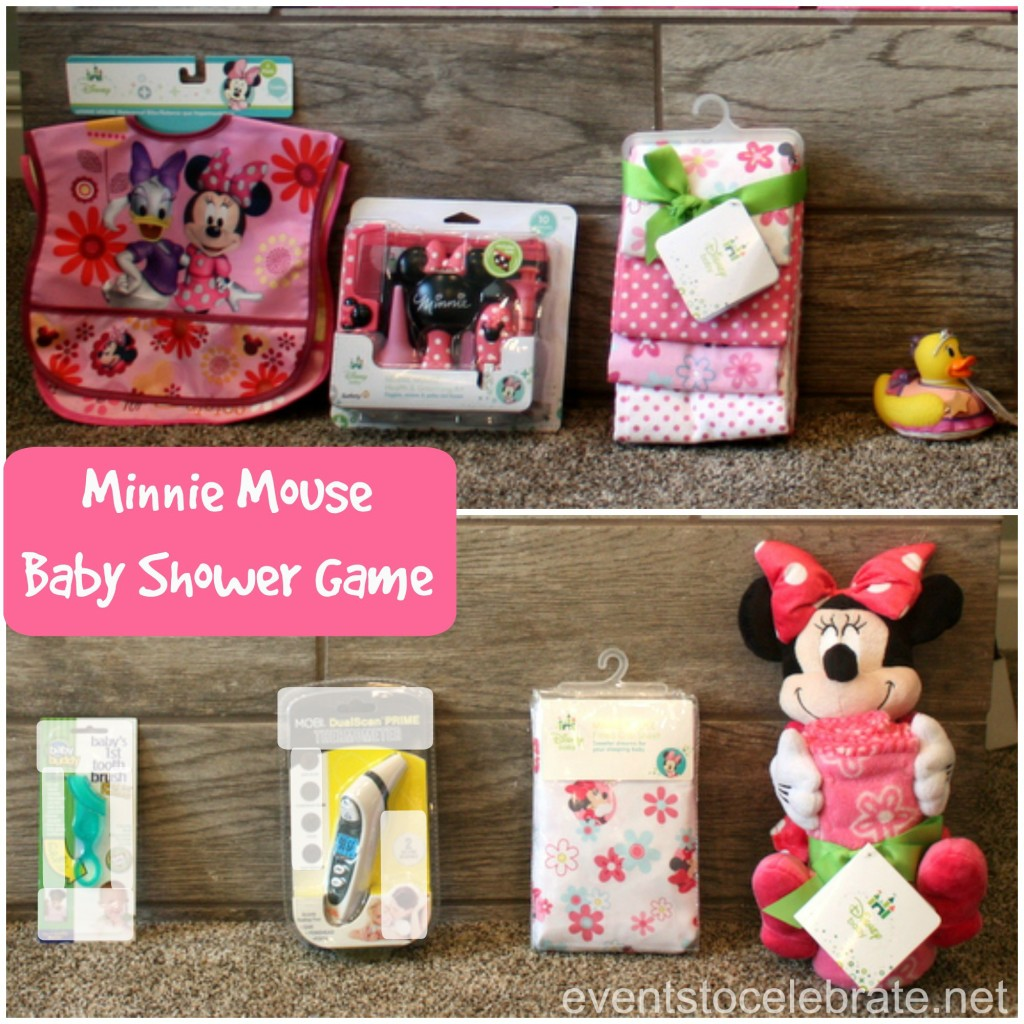 Minnie Mouse Baby Shower Game - Events To Celebrate.