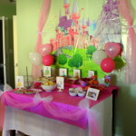 disney princess party food and decor