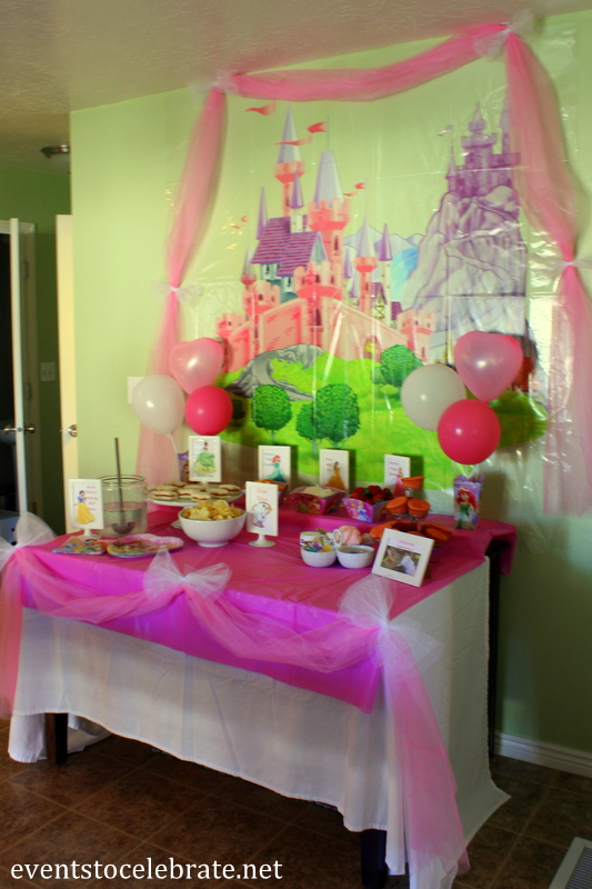 Disney Princess Birthday Party Ideas: Food & Decorations ...
