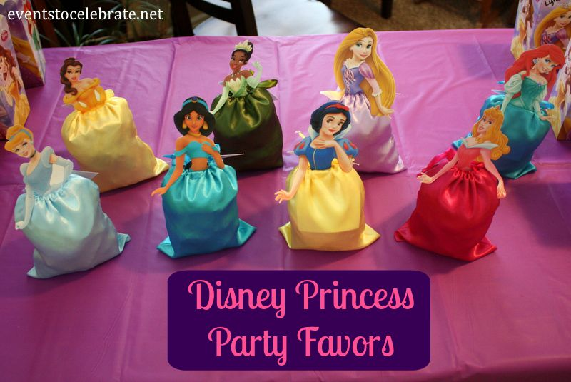 Disney Princess Party Favors - eventstocelebrate.net