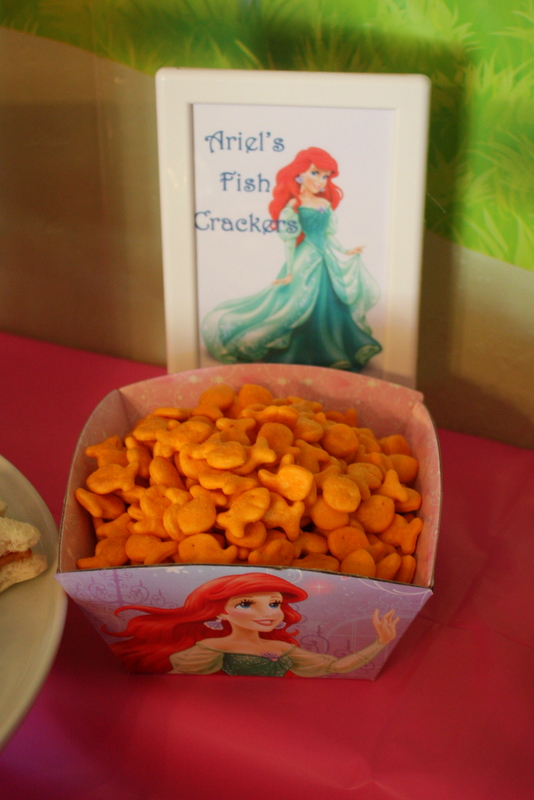 Princess Party Food - Ariels Fish Friends