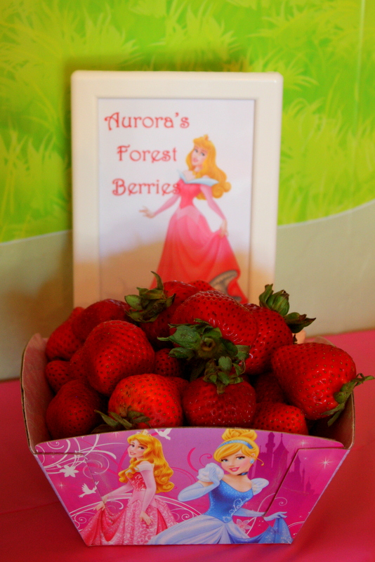 Princess Party Food - Auroras Forest Berries