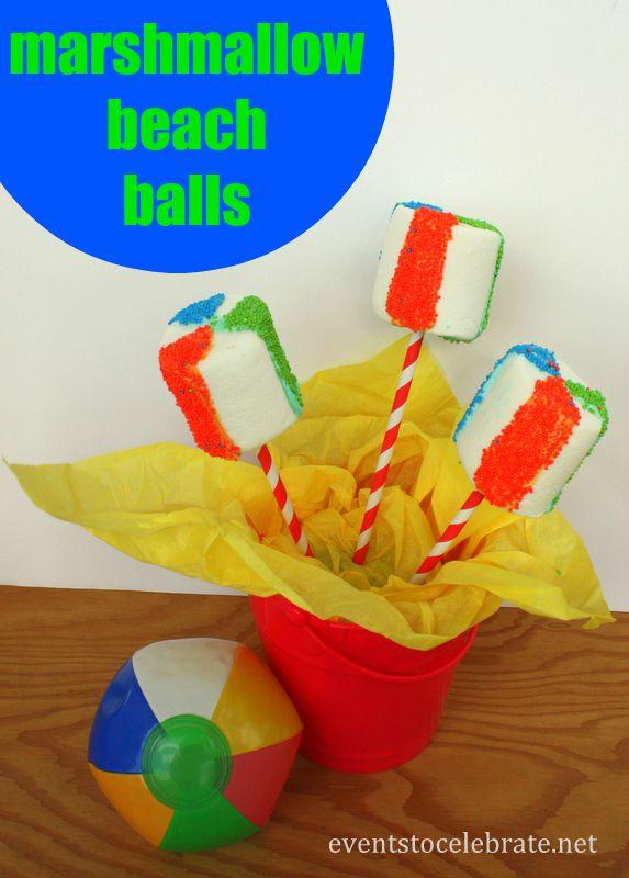 Marshmallow Beach Balls - eventstocelebrate.net
