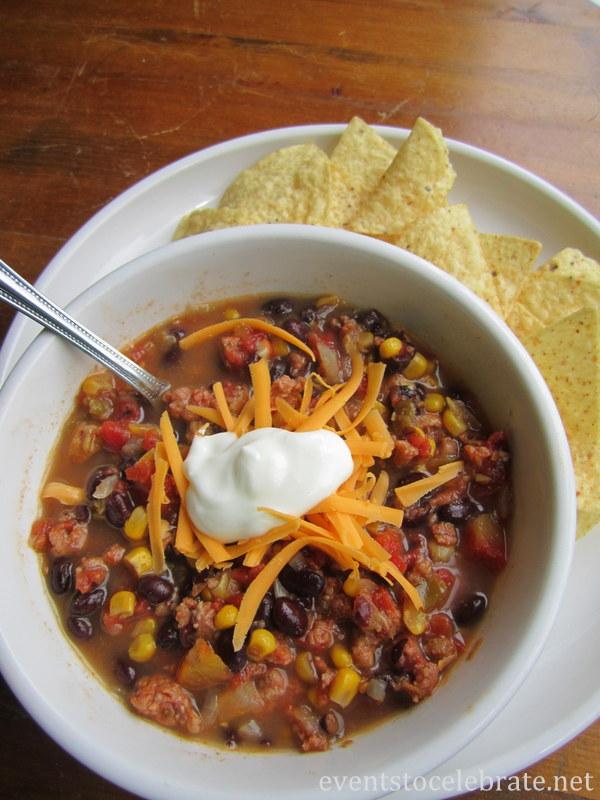 Southwestern Chili Recipe