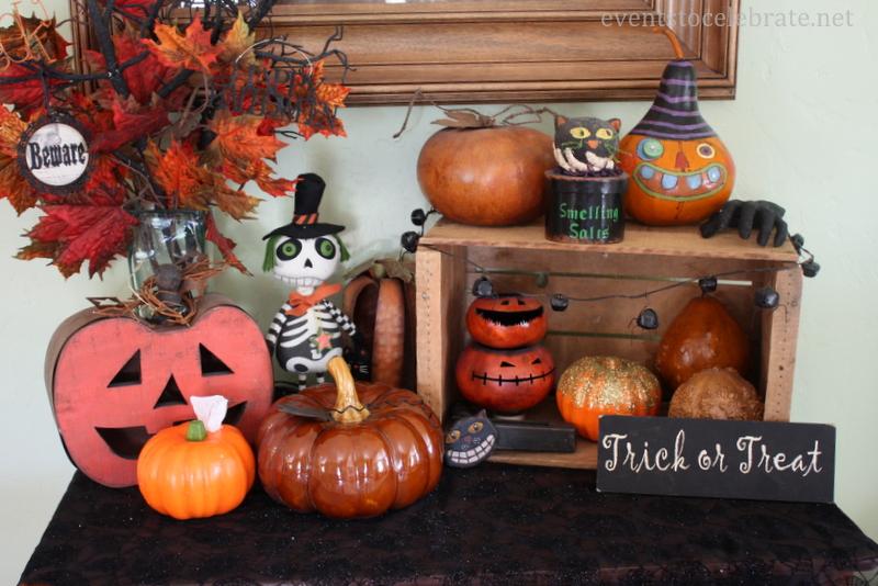 Dollar Store Craft Tutorial- Foam Pumpkin Tissue Holder