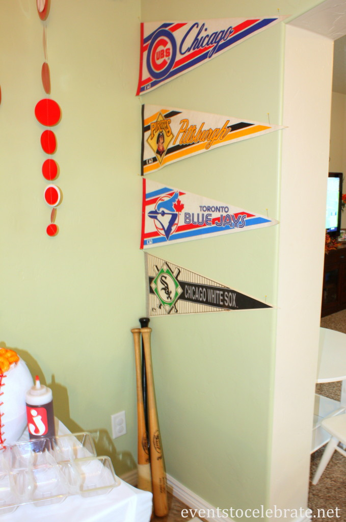 Baseball Party Decor