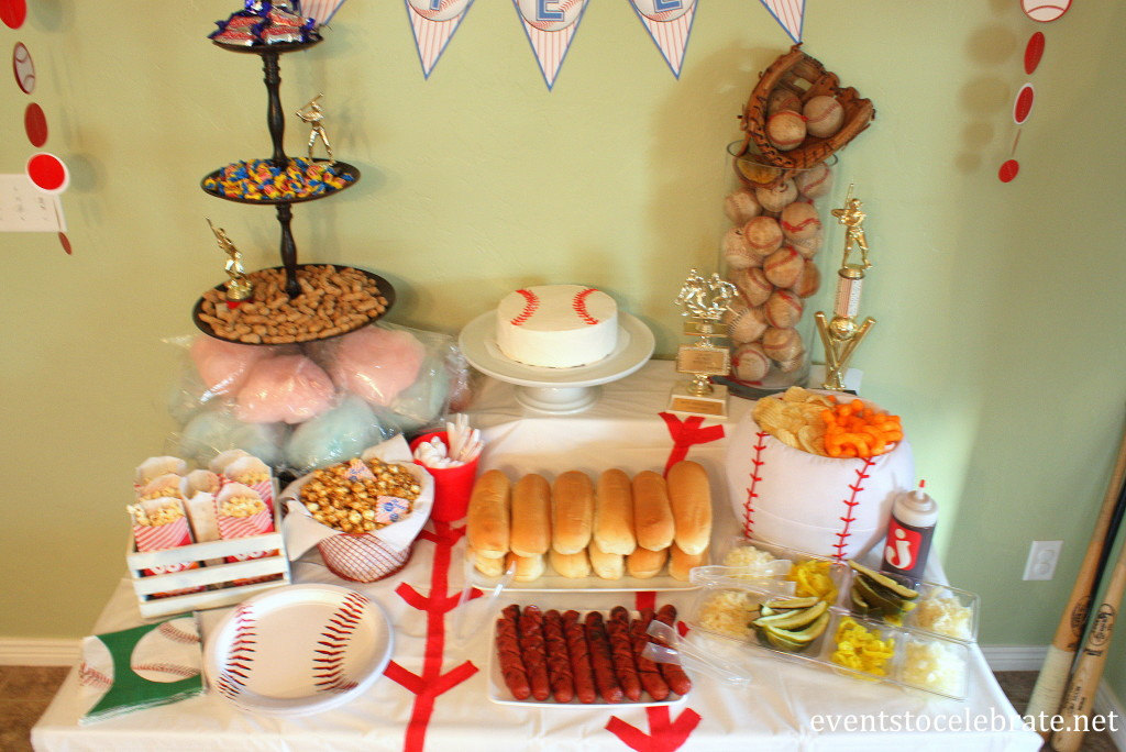 Baseball Party Food - Events To Celebrate