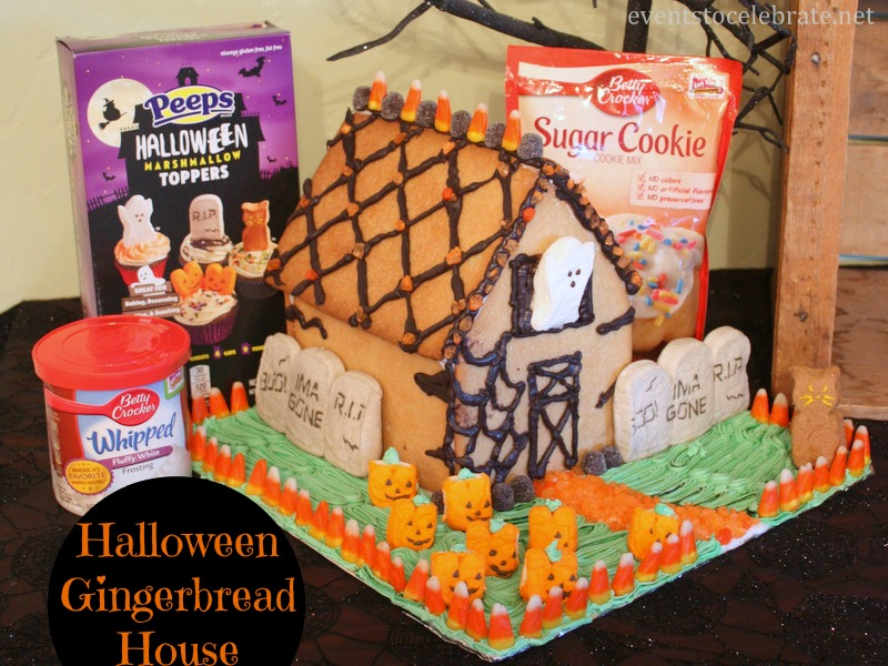 Halloween Gingerbread Houses - EventstoCelebrate.net
