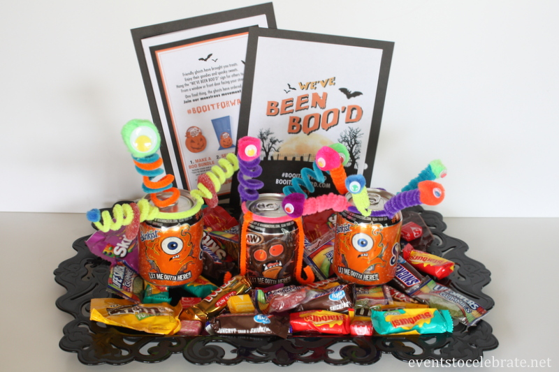 You've Been Boo'd Kit with Printable - Events To Celebrate