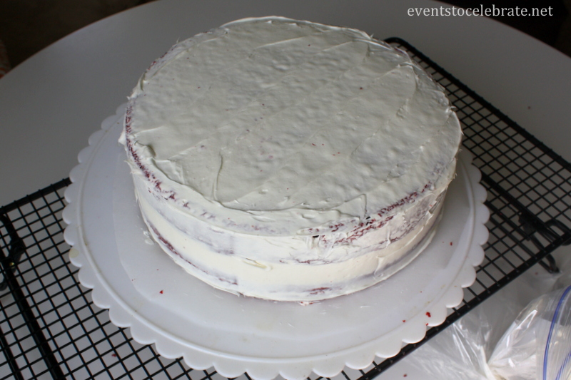 Easy Baseball Cake Tutorial - Events To Celebrate