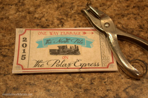 picture regarding Printable Polar Express Ticket named Cost-free Printable Polar Convey Tickets -