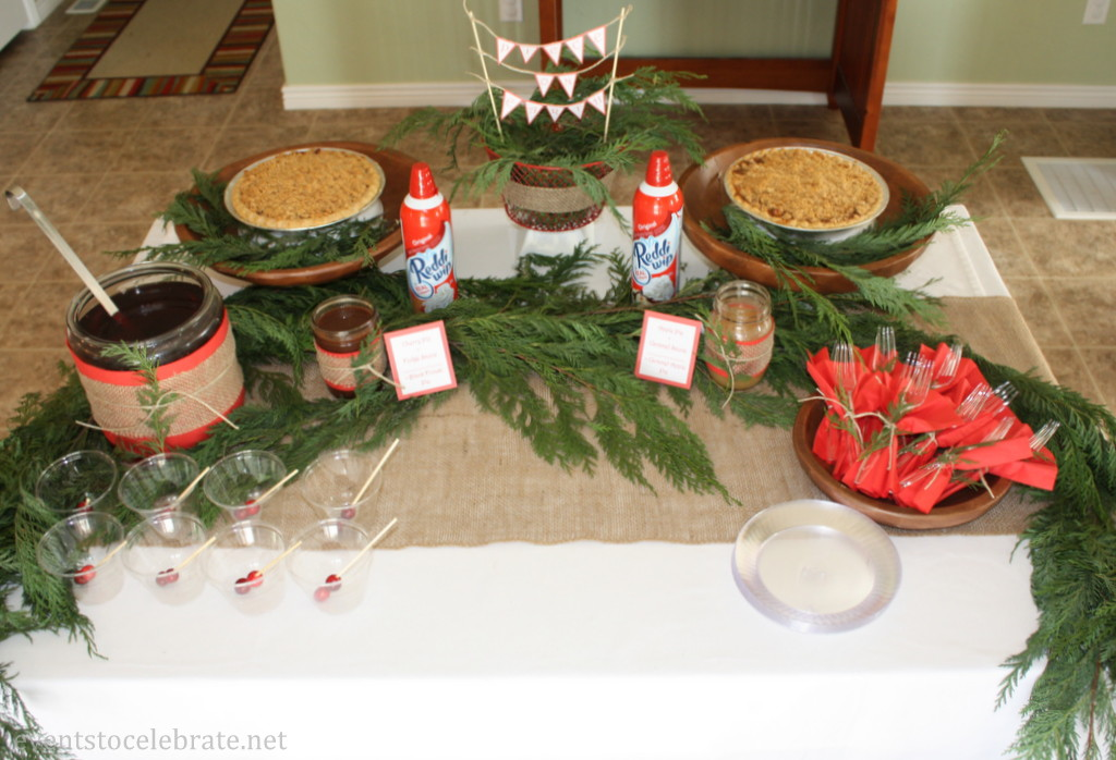 Holiday Pie Buffet - Eventstocelebrate.net