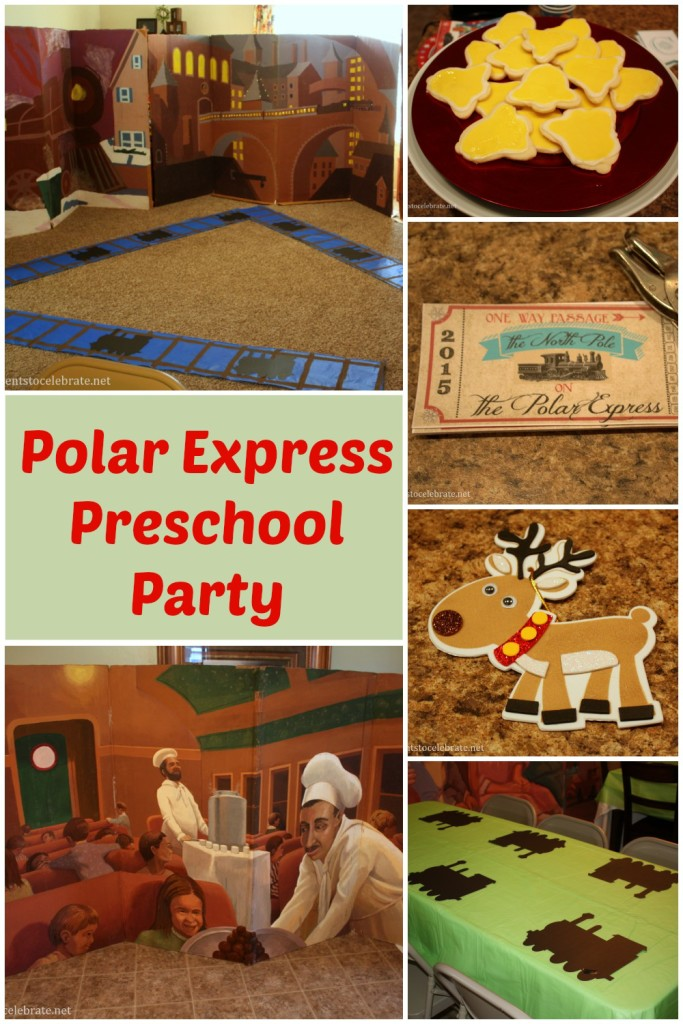 Polar Express Party for Preschool - eventstocelebrate.net