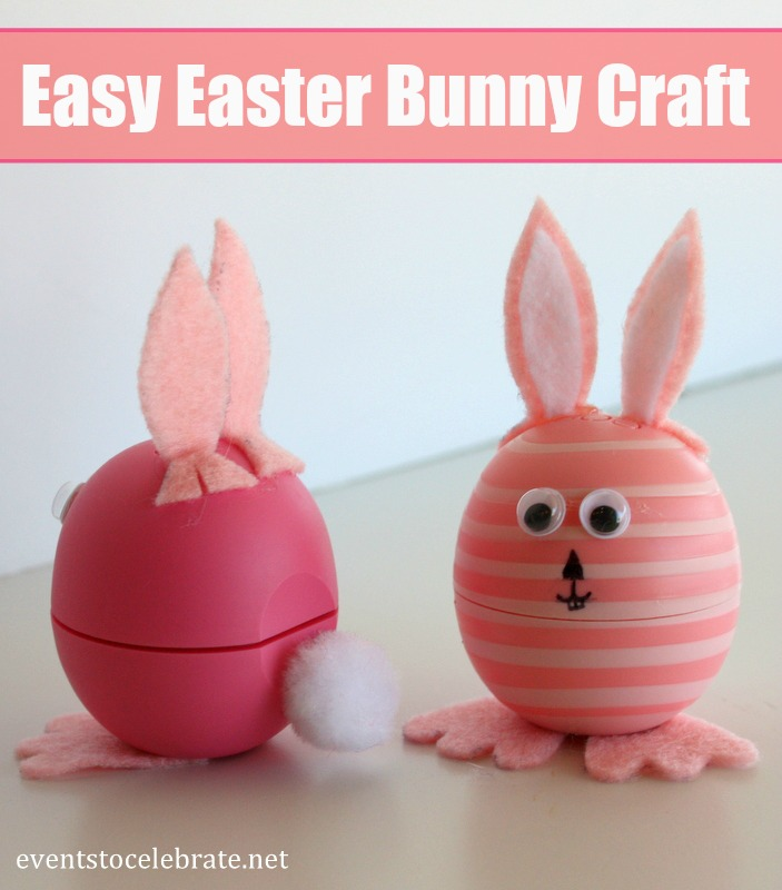 Easter Bunny Craft - Events To Celebrate