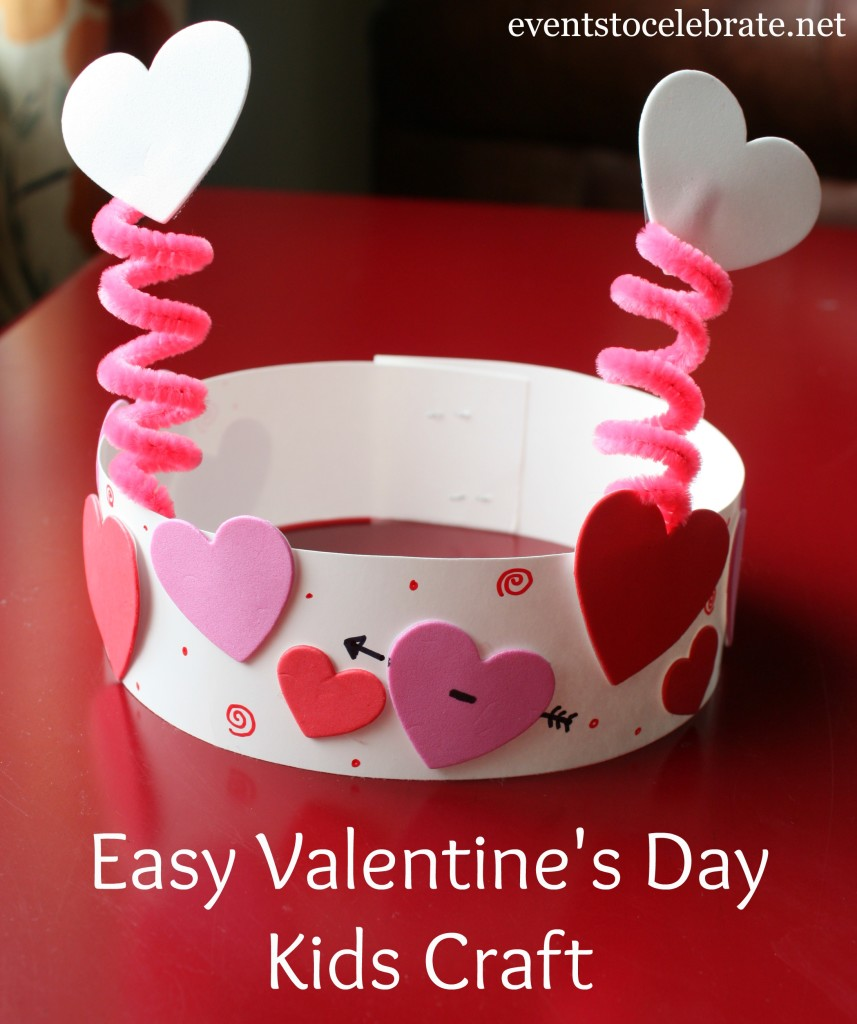 Valentines Day Kids Activity Craft - Valentines' party fun!