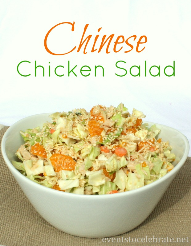 Chinese Chicken Salad - eventstocelebrate.net