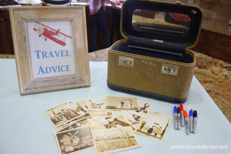 Vintage Airplane Baby Shower - eventstocelebrate.net