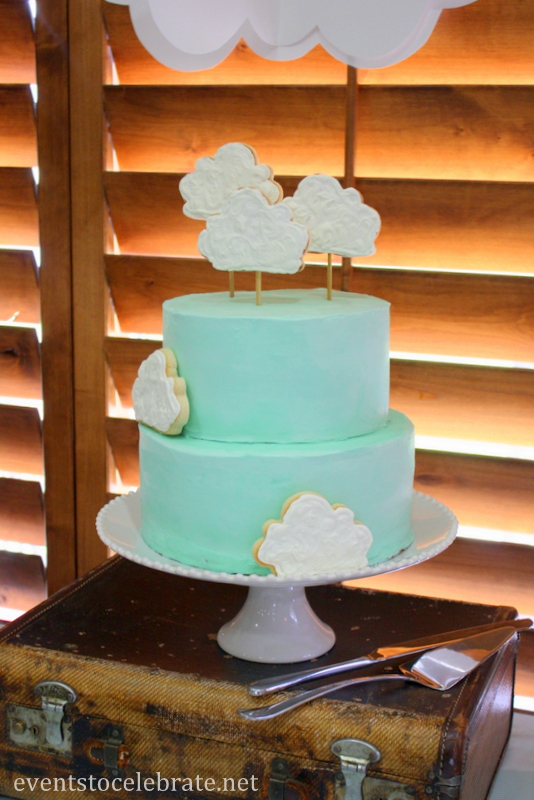 Airplane Party Cake