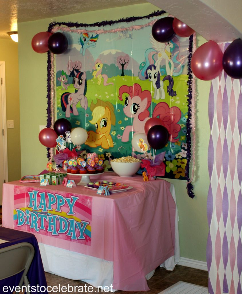 My Little Pony Party Ideas Events To Celebrate