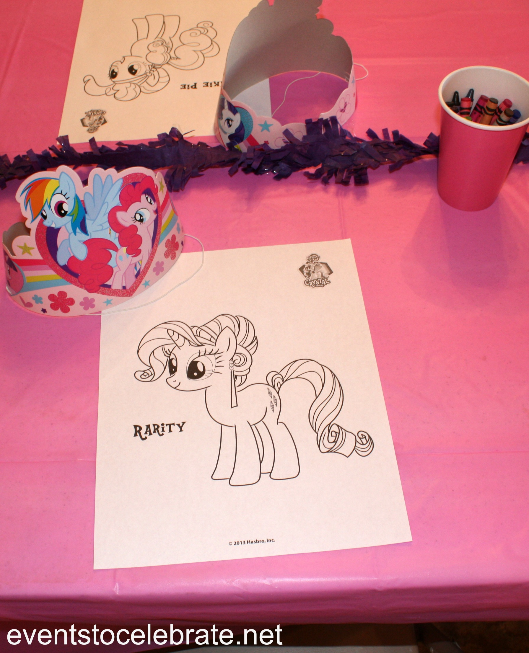 My little pony colouring pages hasbro