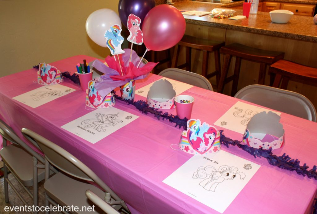 My Little Pony Party Decorations - eventstocelerate.net